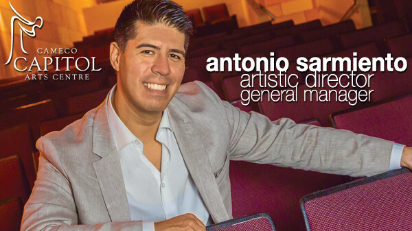 Antonio Sarmiento - Artistic Director & General Manager