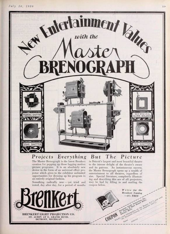 Historic Brenograph Flyer