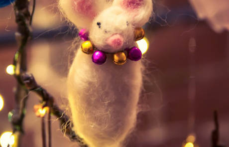 Christmas Mouse Tree Ornament at the Capitol Theatre