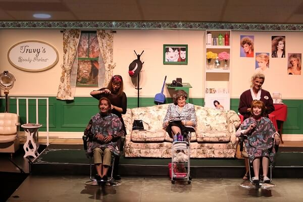 Steel magnolias live on stage jul 4 jul 22 cameco for 22 changes salon