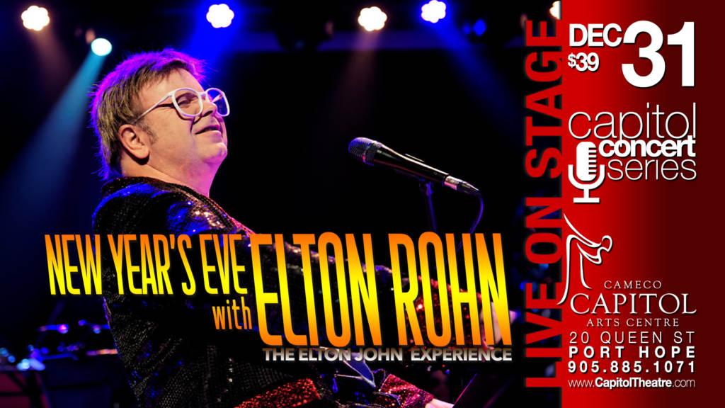 New Year's Eve with Elton Rohn