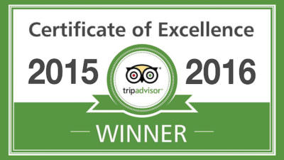 TripAdvisor Excellence Award for the Capitol Theatre