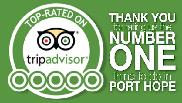 TripAdvisor Number One Ranking for the Things to Do in Port Hope