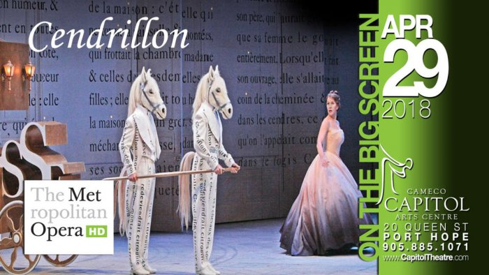 Opera Met Cendrillon