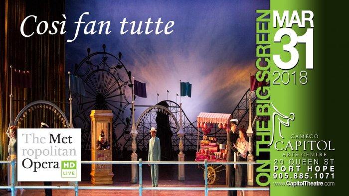 Opera Met Cosi Fan Tutte