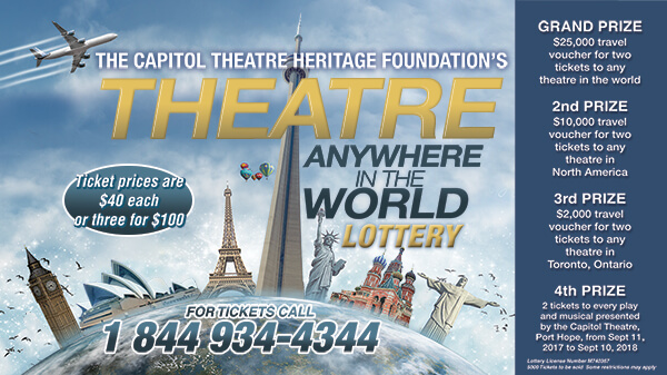 Capitol Theatre Anywhere in the World Lottery