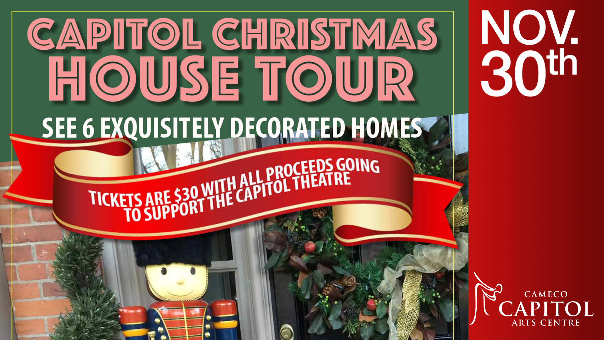 Capitol Christmas House Tour