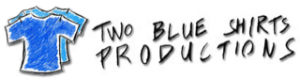 Two Blue Shirts Productions Logo